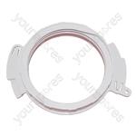 Tumble Dryer Vent Hose Adaptor White