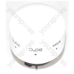 Indesit Polar White Thermostat Knob