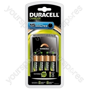Duracell Dur15min Charger 2aa+2aaa (cef15 022102)