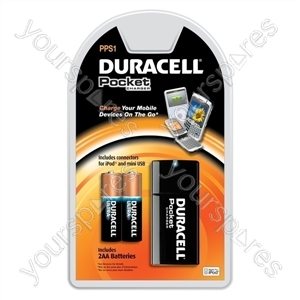 Duracell Pocket Charger PPS1