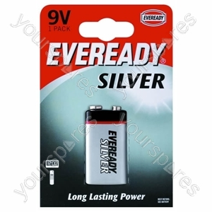 9v Pp3b1 Eveready Silver 621063