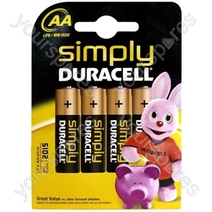Duracell AA B4 Simply 002241