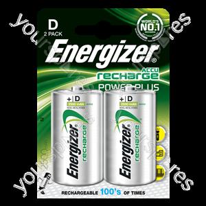 Energizer D 2500mah 2pk Power Plus 635675