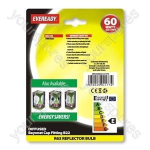 Eveready Ref R63 60w Bc Blx2