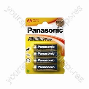 Panasonic Lr6 B4 Bronze Power Lr6apb/4bp Bronze