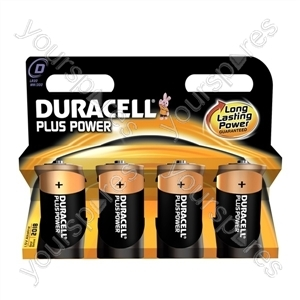 Duracell Plus D B4 019201