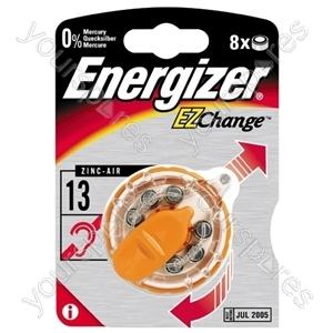 Energizer V13 Hearing Aid 629327