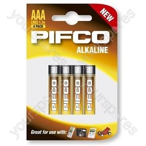 Pifco Lr03/aaa Alk 4 Pk