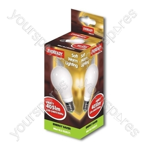 Eveready Energy Saving Golf 7w Se S Soft Lite
