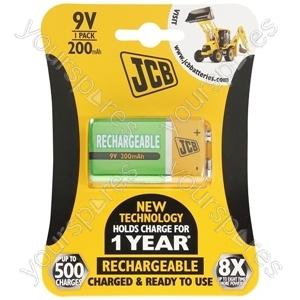 JCB Jcb 9v B1 Rtu 200mah Ready-to-use Low Self-discharge