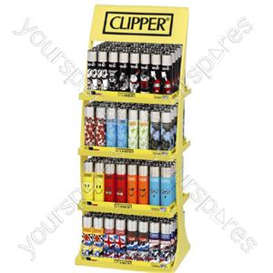 B1866 Clipper Large 4 Tier Display 4 Designs +24 Foc Specia