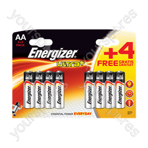 Energizer AA 4+4 Ultra 635259