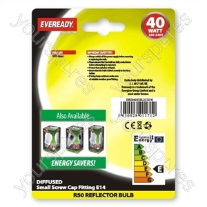 Eveready Ref R50 40w Ses Blx2