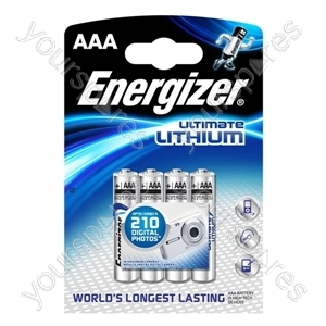 Energizer L92 Lithium B4 (aaa) 632965 Was 627326