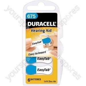 Duracell Hearing Aid 675 536191