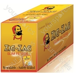 Zig Zag Slim Filter Tips (10 Case 150tip 1305706801134