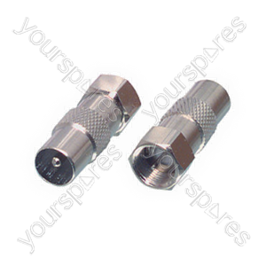 B476 Pack Of 2 Co-axial Plugs