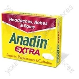 B844 Anadin Extra 16's X 12