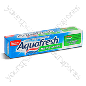 B1171 Aquafresh Mild & Minty 75ml (50% Free) Toothpaste