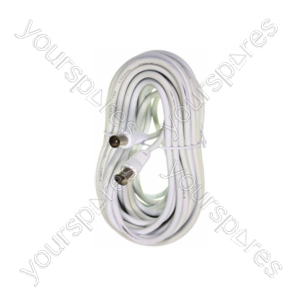 B141 4m Co-axial Plug To Co-axial
