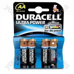 Duracell AA B4 Ultra Power 002562