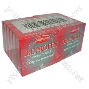 B1277 Ibuprofen Tabs 16's X12