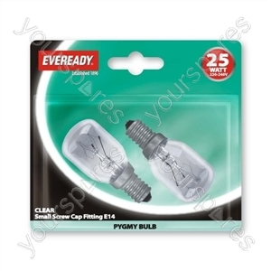 Eveready Pygmy 25wses Clr Blx2