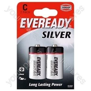 C R14b2 Eveready Silver 621069
