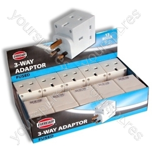 3 Way Fused Adaptor A03