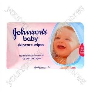 B1011 Johnson & Johnson Baby Wipes 64's