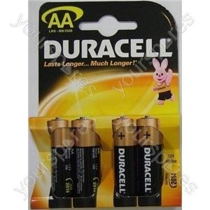 Duracell AA Base K Pk4 076952