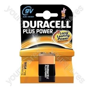Duracell Plus Power 9v Pk1 019256