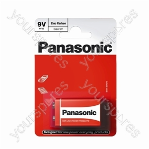 Panasonic 9v B1 Non Price Zinc 6f22rz/1bp Eu