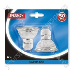 Eveready Gu10 50w Blx1 2000hrs