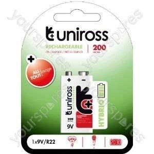 Uniross 1xpp3 Ni-mh 1.2v 200mah Hybrio U0240383