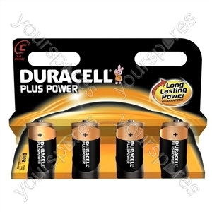 Duracell Plus Power C B4 019126