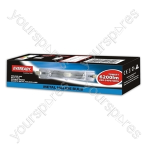Eveready Rx7s 70w Double Ended Quartz Metal Halide Col 840