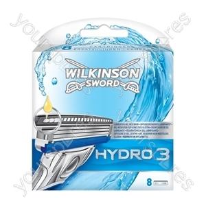 D** Energizer Hydro Blades 3 Pk8 7000031e Was 70000310