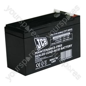 JCB 12 Volt 7.0 Ah Agm Lp12 - 7