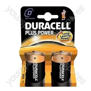 Duracell Plus Power D B2 019171