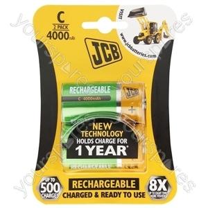 JCB Jcb C B2 Rtu 4000mah Ready-to-use Low Self-discharge