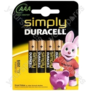 Duracell AAA B4 Simply 002432