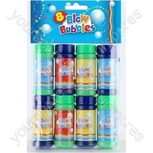 B2057 Pirate 5 Party Blow Bubbles