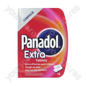 B1075 Panadol Extra 16's X 12