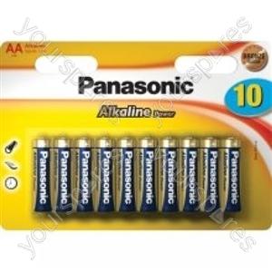 Panasonic Lr6 B10 Alk Power Lr6apb/10bw
