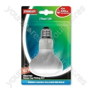 Eveready Energy Saving Halogen R8 0 Reflector 42w (60w) Es Blis
