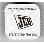 376/377/sg4/sr626w Jcb Silver Oxide