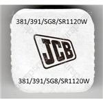 381/391/sg8/sr11202w Jcb Silver Oxide