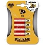 JCB Jcb R03/aaa 4 Pk Zinc 10 Per Inner And 40 Per Outer