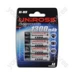 Uniross 4aa 1300mah Series U0239721